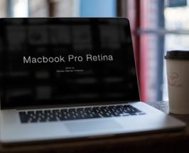 High Resolution Macbook Pro Mockup PSD Download