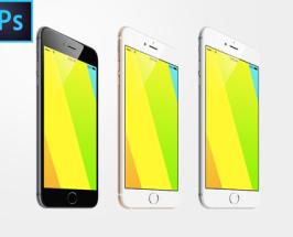 iPhone 6 Plus Free PSD MpckUp